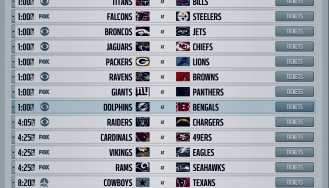 The Nfl Schedule Today All Games Available 6tvs French Camp Sports Bar And Grill